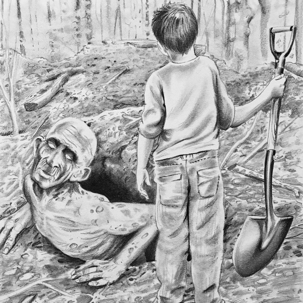 Digging up Charlie