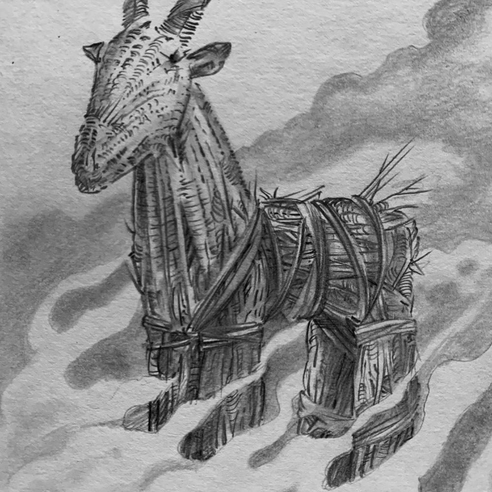 The Goat Burning